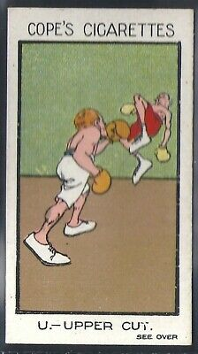 Cope Copes-Sports & Pastimes-#21- Boxing - Upper Cut