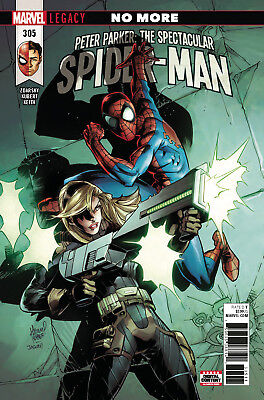 Peter Parker: The Spectacular Spider-Man #305 Marvel Legacy Boarded. Free Uk P+P