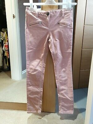 Next Pink Cords Trousers Age 10 Years