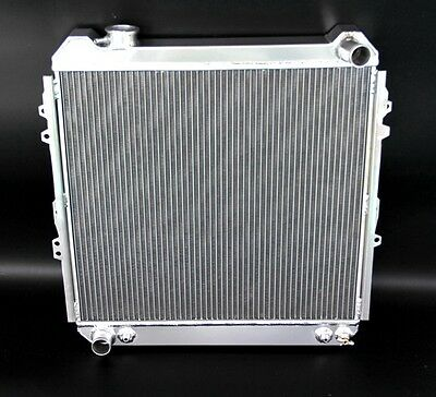 Aluminum Radiator Fits CU50 for Toyota 1988-1995 Pickup 1989-1995 4Runner 3.0L