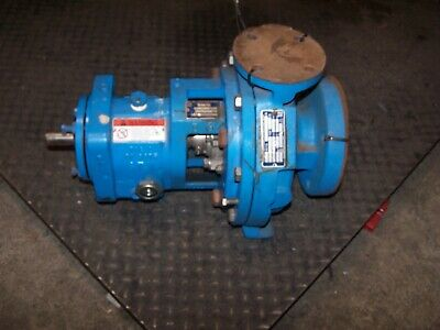 New Goulds 3196 Ductile Iron / Ss Centrifugal Pump 1.5X3-8