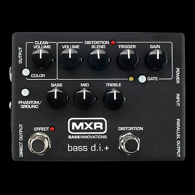 MXR M80 Bass DI+ Distortion+