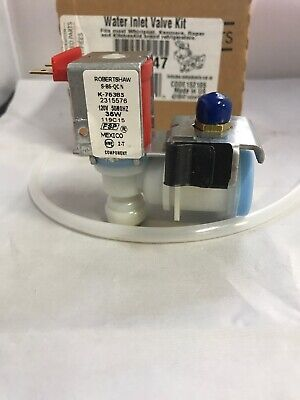 W10190978 Whirlpool Ice Maker Complete Kit Valves WP2315576 12638803 P1328014W