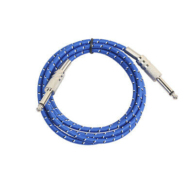"""5.9ft - 1/4"""" Straight Guitar Cable:Electric/Electro-Acoustic/Bass/Instrument"""