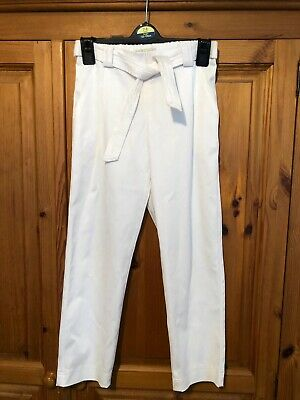 Zara Kids White Trousers Age 10
