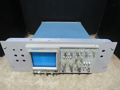 Tektronix 2445 15 0MHz 4 Channel Analog Oscilloscope Tested and Working
