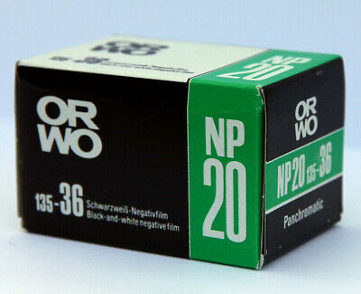 ORWO NP20 Film • ISO 80 • 35mm • 135 • b/w negative • Expired Vintage • GDR DDR