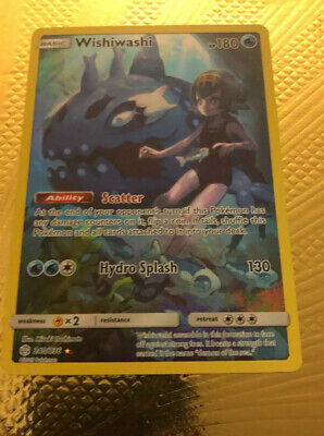 Pokemon - Wishiwashi - 240/236 - Secret Rare - Cosmic Eclipse - Cosmic