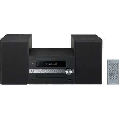 Pioneer X-CM56B Mini Stereo System with Built-in Bluetooth in Black