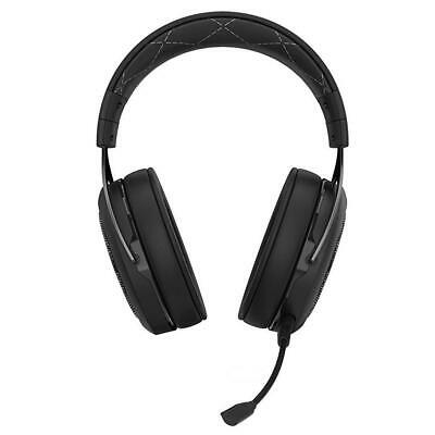 Corsair HS70 PRO Wireless Gaming Headset 7.1 Surround Sound Carbon PC PS4