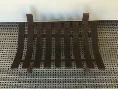 Cast Iron Fire Grate Solid Condition