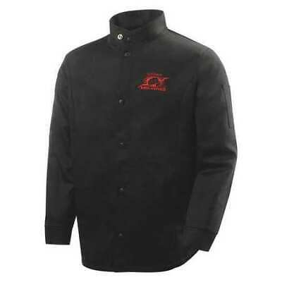 STEINER 1160-L Welding Jacket, Black, Cotton, L