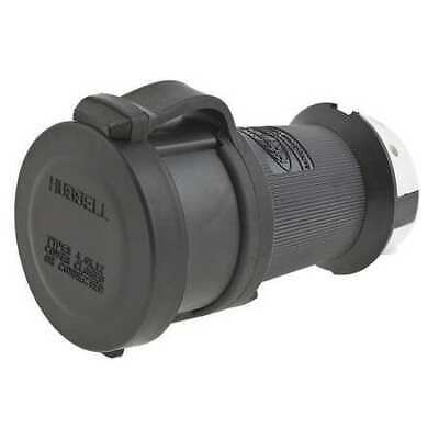 HUBBELL WIRING DEVICE-KELLEMS HBL2423SW 20A Watertight Twist-Lock Connector 3P