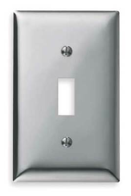 Toggle Switch Wall Plate,4 Gang,White HUBBELL WIRING DEVICE-KELLEMS NP4W