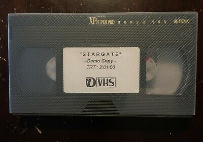 D-VHS Demo Cassette Tape Sold as Blank for VHS / S-VHS SVHS D-VHS Recording