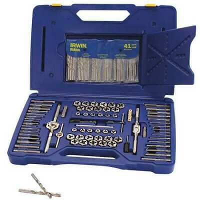 IRWIN HANSON 26377 Tap and Die Set,117 pc,High Carbon Steel