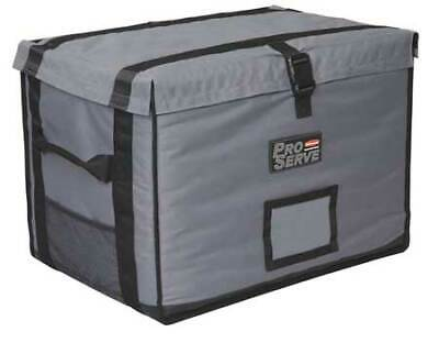 Rubbermaid Fg9f1600cgray Insulated Carrier, 18 1/4X 27 X 16, Gray