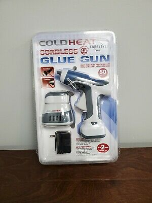 Cold Heat Freestyle Cordless Rechargeable Cordless Glue Gun