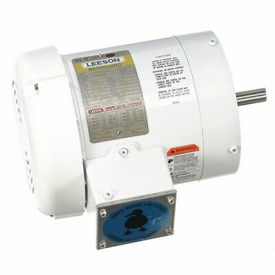LEESON 116645.00 Washdown Motor,3/4 HP,Face Mounting,CWSE
