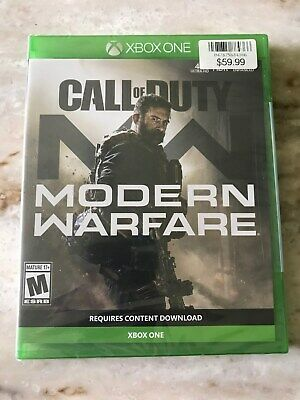 Call of Duty Modern Warfare (Xbox One, 2019) Brand New Sealed