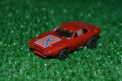 COOL! Custom REBEL Road Runner, AFX TOMY Mega G Short Wheel Base HO Slot Car