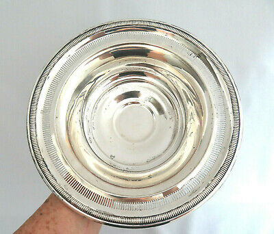 Kenilworth Watrous 925 Sterling Silver Footed Bowl ~ 350 grams  ~ XLNT.