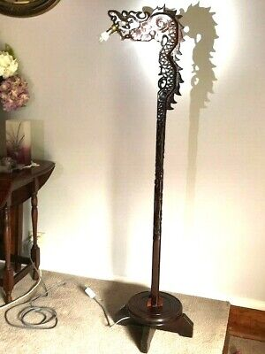 Antique Chinese Dragon Lamp