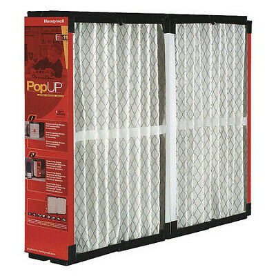 HONEYWELL POPUP2200 21x25x6 Synthetic Furnace Air Cleaner Filter, MERV 11