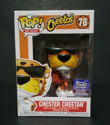 Funko Pop Chester Cheetah Hollywood HQ Exclusive