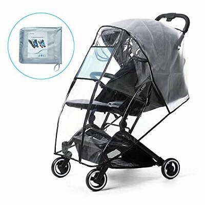 Rain Cover For Baby Stroller Universal Waterproof Kid Stroller Weather Shield