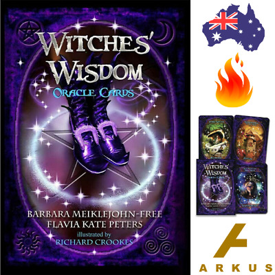 WITCHES' WISDOM Oracle Cards - 48 Card Deck by Richard Crookes NEW