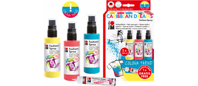 Marabu Fashion-Spray Caribbean Dreams Textilsprühfarbe