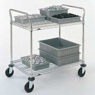 METRO 2SPN53ABR - 1PK/25 Wire Cart,24 In. W,36 In. L,Steel