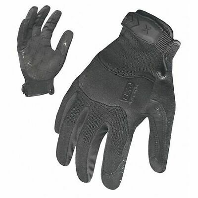 IRONCLAD EXOT-PBLK-22-S Women Small Black Suede Puller Cuff Mechanics Gloves