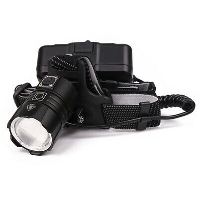 XHP50 / XHP70 Headlamp Zoom USB Rechargeable 18650 Headlight Super Bright New