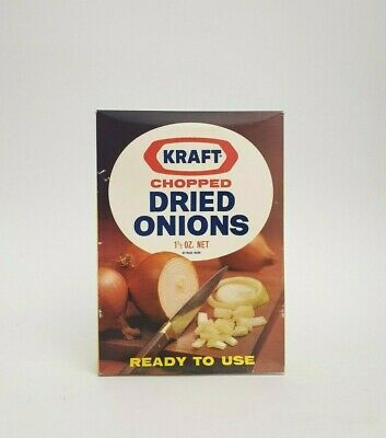 vintage Kraft chopped dried onion packet, Grocery, Vintage packaging, Listing 2