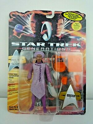 Star Trek Generations Guinan Figure With Accessories Movie Poster & Stand