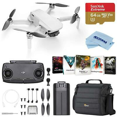 DJI Mavic Mini Kit With 64GB MicroSDHC Card /Case /Software Package