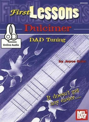 First Lessons Dulcimer TAB Music Book with Audio Learn How To Play Method