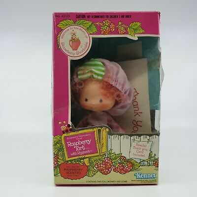 Vintage Strawberry Shortcake Raspberry Tart doll 1982