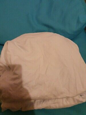 Cotbed Fitted Sheets Light Blue