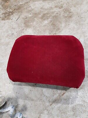 Small Antique Cushioned Footstool
