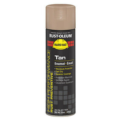 RUST-OLEUM V2171838 Rust Preventative Spray Paint,Tan,15 oz.