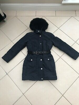 Girls River Island Coat Age 11 Years Vgc