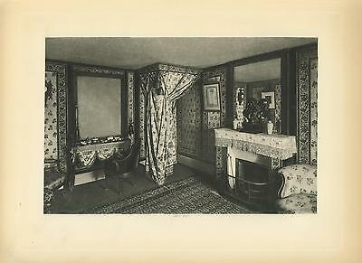 CLUB-HOUSE OF THE PLAYERS ACTORS EDWIN BOOTH/'S ROOM FIREPLACE MANTEL LIBRARY