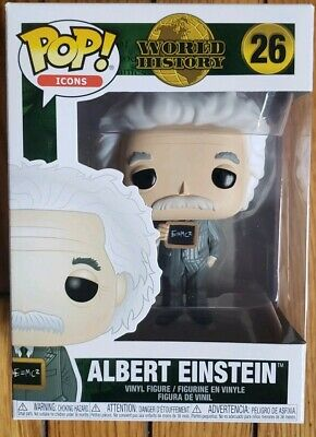 Funko POP! World History Icons Albert Einstein Vinyl Figure 4""