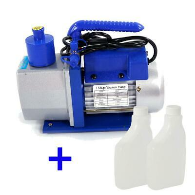 5CFM 1/3HP Portable Vacuum Pump HVAC Tool for AC R410A R134 Refrigeration A/C