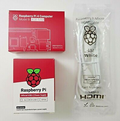 Raspberry Pi 4 4gb PREMIUM Complete Kits.  + Select Your Case