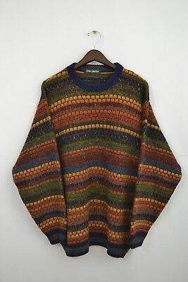 ENZO LORENZO PULLOVER Strick Knit Sweatshirt Sweater Hipster