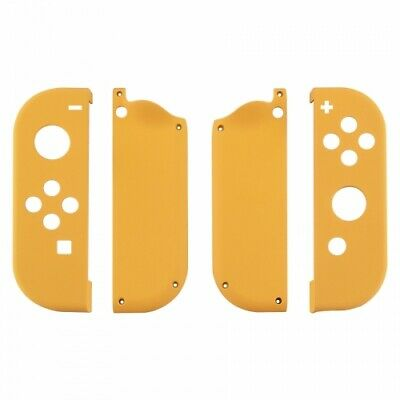 Housing shell for Nintendo Switch Joy-Con controller soft touch yellow | ZedLabz